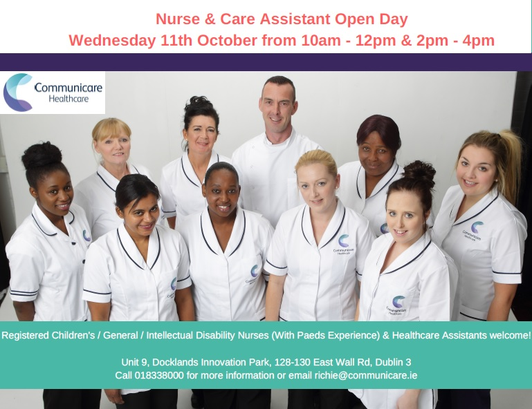 Nurse & Care Assistant Open Day