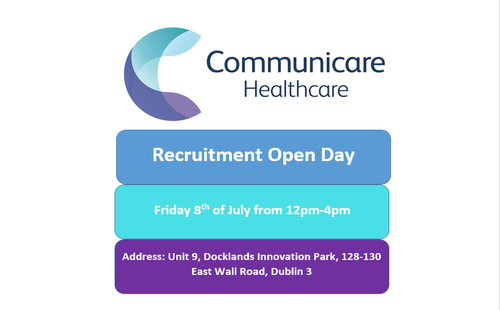 Recruitment Open Day (Friday 8th July)