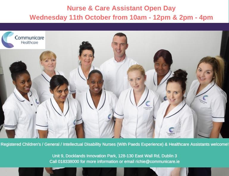 Nurse & Care Assistant Open Day